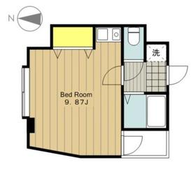ベルカント3階Fの間取り画像
