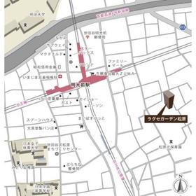 ラグゼガーデン松原案内図