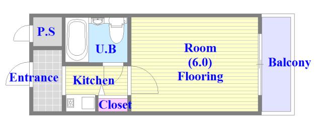 レガーレ布施 シンプルな住み心地を実感できる素敵な間取りになってます。