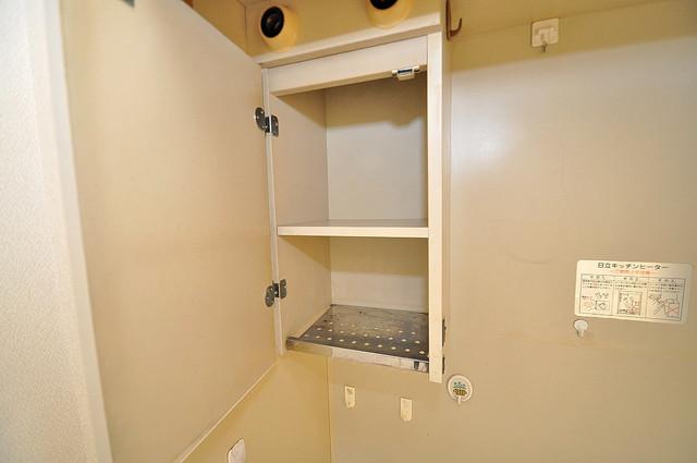 ムーンシングルエイト コンパクトながら収納スペースもちゃんとありますよ。
