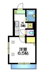 KMメゾン3階Fの間取り画像