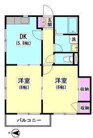 ガーデンハウス 202号室
