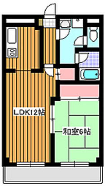地下鉄赤塚駅 徒歩5分間取図