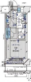メインステージ横濱伊勢佐木Ⅱ4階Fの間取り画像