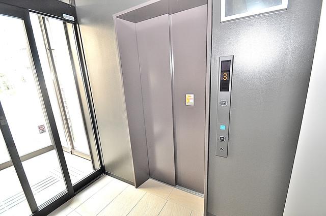 K.Bld 嬉しい事にエレベーターがあります。重い荷物を持っていても安心