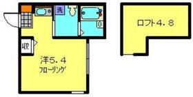 リヴィエールマツダ1階Fの間取り画像