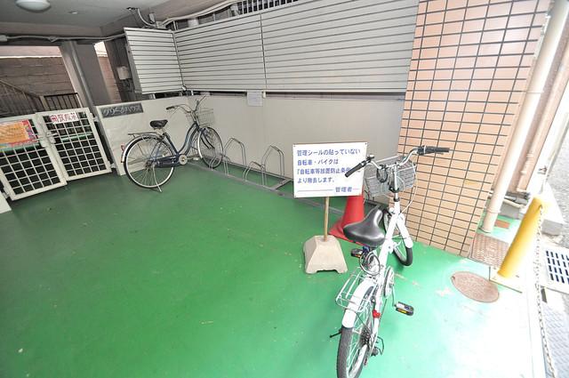グリーンハウス あなたの大事な自転車も安心してとめることができますね。