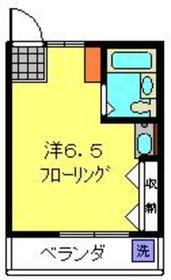 元町・中華街駅 徒歩18分2階Fの間取り画像