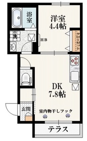 メゾン KS 加美平1階Fの間取り画像