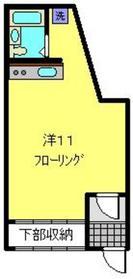 エクセルオカザワNo.51階Fの間取り画像