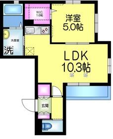 アナベル2階Fの間取り画像