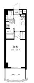 グリフィン新横浜・六番館9階Fの間取り画像