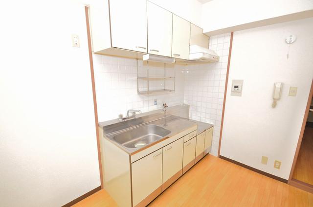 メゾンタツミ 大きなキッチンはお料理の時間を楽しくしてくれます。