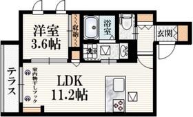 Maison de Luanna1階Fの間取り画像