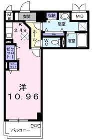 クラール和光1階Fの間取り画像
