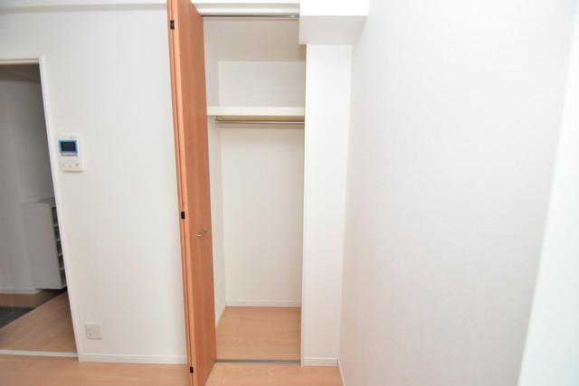 リビングライフ長瀬 もちろん収納スペースも確保。いたれりつくせりのお部屋です。