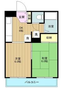 ロン ボア カサベール3階Fの間取り画像