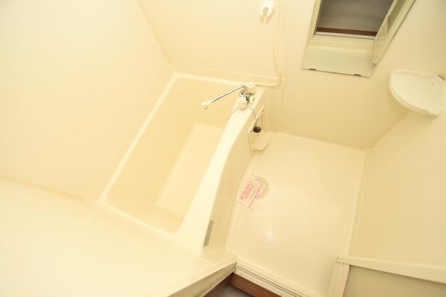 カーサ・デル・ソーレ ちょうどいいサイズのお風呂です。お掃除も楽にできますよ。