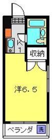 星川駅 徒歩10分2階Fの間取り画像