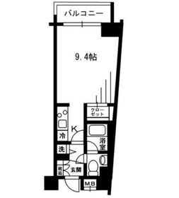 レジディア荻窪2階Fの間取り画像