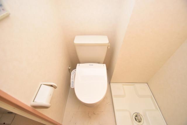セレブ西上小阪 洗面台と一緒の空間にあるアメリカンセパレートです。