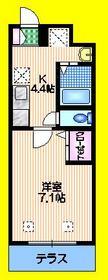 Le Grand Vert Karasuyama1階Fの間取り画像
