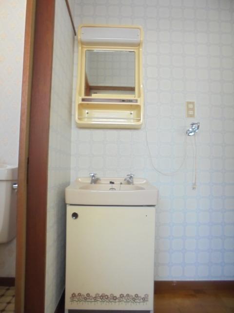 ハイム蘭洗面所