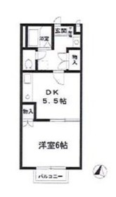 日吉本町駅 徒歩28分2階Fの間取り画像