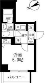 アイル横浜ノース4階Fの間取り画像