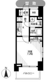 プレール・ドゥーク西横浜3階Fの間取り画像