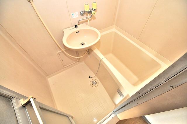 ツインコンフォートハイツ岩崎 ちょうどいいサイズのお風呂です。お掃除も楽にできますよ。