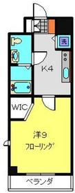 新杉田駅 徒歩10分5階Fの間取り画像
