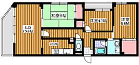 和光市駅 徒歩2分7階Fの間取り画像