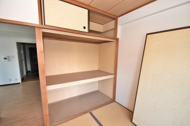 サンオーク タツミ もちろん収納スペースも確保。いたれりつくせりのお部屋です。