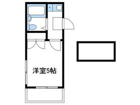 Nパレス本厚木2階Fの間取り画像