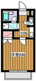成増駅 徒歩14分1階Fの間取り画像