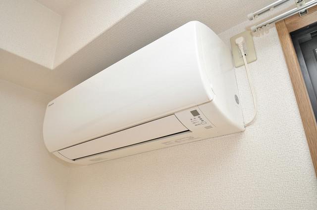 ウィダーホール23 エアコンが最初からついているなんて、本当に助かりますね。