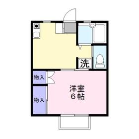 ステラ212階Fの間取り画像