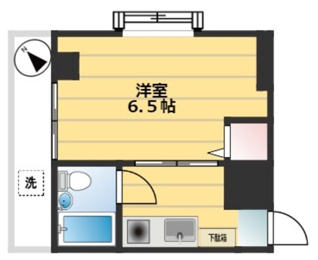 幡ヶ谷駅 徒歩5分間取図