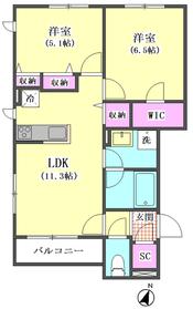 千鳥3丁目シャーメゾン 201号室