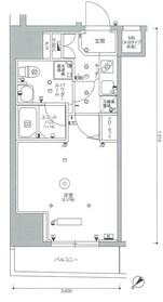 スカイコートパレス西巣鴨Ⅱ9階Fの間取り画像