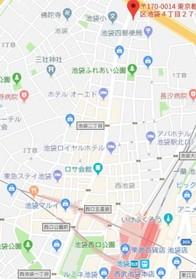 板橋駅 徒歩21分案内図