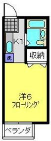 セルサス2階Fの間取り画像