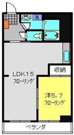 フレメゾン3階Fの間取り画像