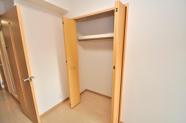 CITY SPIRE布施(ラグゼ布施) もちろん収納スペースも確保。おかげでお部屋の中がスッキリ片付きますね。