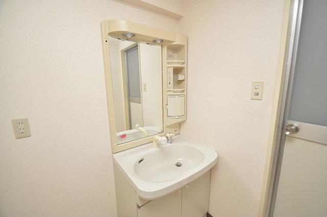 グランシャトレー DAIWA 人気の独立洗面所はゆったりと余裕のある広さです。