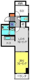 SEエトワール7階Fの間取り画像