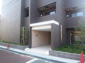 ガリシアレジデンス目黒本町エントランス