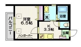 ラ・メゾンM3階Fの間取り画像