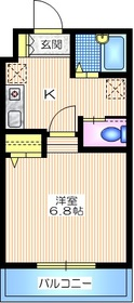HILLS KOBAYASHI2地下1階Fの間取り画像